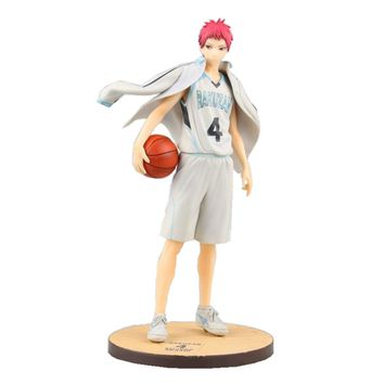 Action figure Kuroko no Basket Akashi Seijuro ball suit cartoon doll PVC 21.5cm box-packed japanese figurine anime 170325