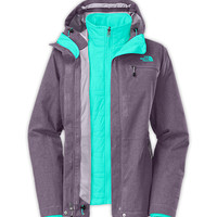The North Face Women's Jackets & Vests INSULATED 3-IN-1 JACKETS WOMEN'S UPANDOVER TRICLIMATE® JACKET