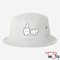 fu fingers bucket hat