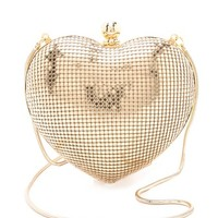 Charity Hearts Clutch