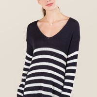 Jan Striped Pullover Sweater
