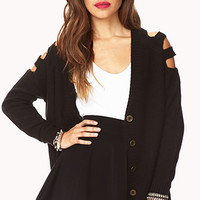 Cutout Craze Cardigan