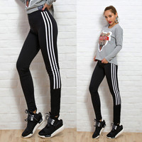 2016 Women Leggings American Apparel Ladies Leggings Sport Sexy Black And White Sexy Legging Ladies Fitness Legins Leggings