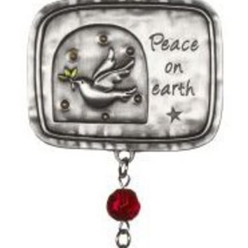 Peace on Earth Car Charm