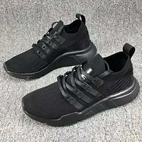 Adidas clover casual sports running shoes F-CSXY Pure black