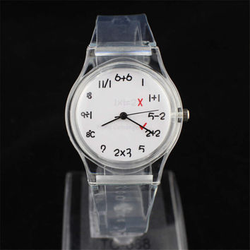 Girls Sums Jelly Strap Watch Womens Sports Watches Best Christmas Gift