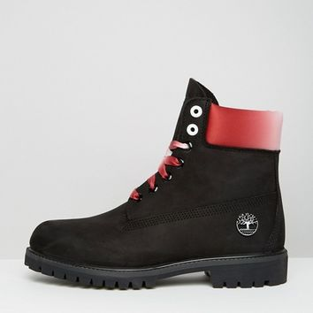 Timberland 6in Premium Boots Black at asos.com