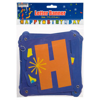 "Bulk Whimsy ""Happy Birthday"" Letter Banners, 7 ft. at DollarTree.com"