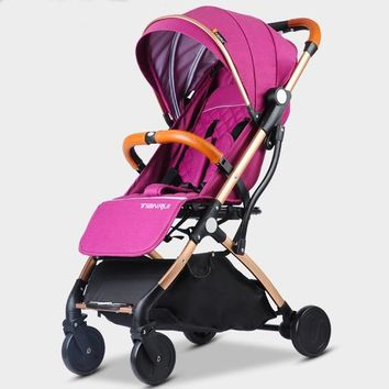 Baby Stroller Lightweight Portable Traveling + Push-chair