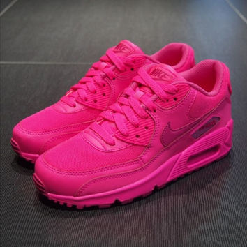 NAM9009 - Nike Air Max 90 (Bright Pink) from shopzaping.com 354857136