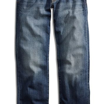 Lucky Brand 363 New Vintage Straight Mens Straight Jeans - Basalt