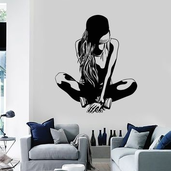 Vinyl Wall Decal Sexy Sports Teen Girl Room Decor Teenager Stickers Mural Unique Gift (ig5177)
