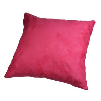 10 Colors Fashion home decorative throw pillow solid color pillowcase for the pillow 45*45 coussin XT