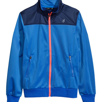 H&M - Athletic Jacket - Blue - Kids