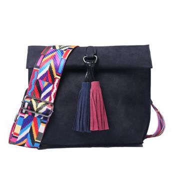 STYLEDOME Women Messenger Bag Crossbody Bag tassel Shoulder Bags