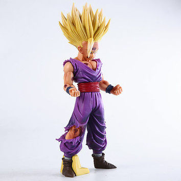 25cm Anime Dragon Ball Z Super Saiyan Son Gohan Action Figures Master Stars Piece Dragonball Figurine Collectible Model Toy