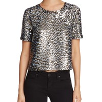KENDALL and KYLIEMulti Sequin Top