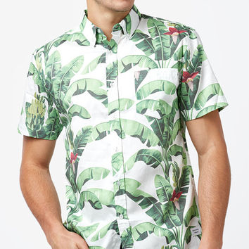 Duvin Design Paradise Short Sleeve Button Up Shirt at PacSun.com