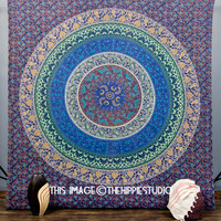 Hippie tapestries, Tapestry Wall Hanging, Mandala Tapestries, Bohemian Tapestry, Wall Tapestries, Indian Boho Bed Spread, Dorm Bed Coverlet