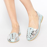 ASOS JOOLY Leather Two Part Shoes