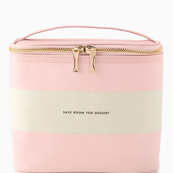blush stripe lunch tote | Kate Spade New York