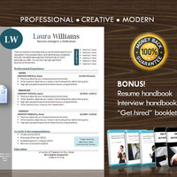 Resume Template / CV Template for MS Word / Professional and Modern Resume Design / Instant Digital Download / Mac or PC 6