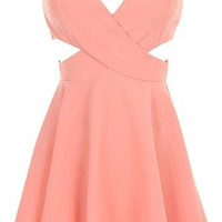 Cutout Sweetheart Dress