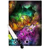 "Mandie Manzano ""Sleeping Beauty"" Fairy Tale Cutting Board"
