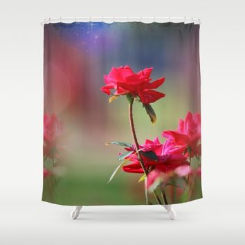 Do You Believe In Magic Shower Curtain by Theresa Campbell D'August Art