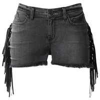 Rock and Republic Lolita Fringe Denim Shorts