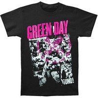 Green Day Men's  His Story T-shirt Black Rockabilia