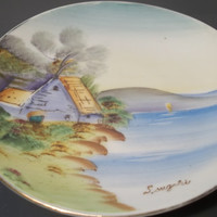 Collectible Vintage Signed Hand painted Plate,Collectible Vintage,Home Decor,Castawaycres