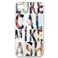 5 Seconds Of Summer 5sos Hard back cover case fit for Apple Iphone 4 4s