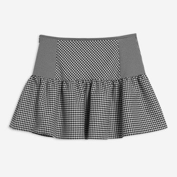 Houndstooth Mix Mini Skirt | Topshop