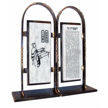 Bar Mitzvah Bookends By Gary Rosenthal In Multi-Colored,black,gold Size: 4X9.5