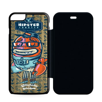 Hipster Lobster Flip Case iPhone 6 | iPhone 6S | iPhone 6S Plus  Case