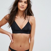 New Look Microfibre Bralette at asos.com