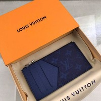 Kuyou Lv Louis Vuitton Gb19710 M30270 K45 Small Leather Goods All Collections Coin Card Holder 8.0 X 14.5 X 1.0 Cm