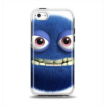 The Angry Blue Fury Monster Apple iPhone 5c Otterbox Symmetry Case Skin Set