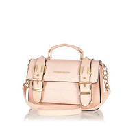 River Island Womens Light pink mini satchel