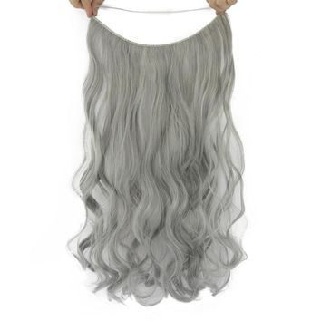 """Halo Hair Curly Extensions  24"""""""