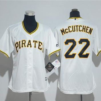 Women's Pittsburgh Pirates Andrew McCutchen Majestic Cool Base Jersey
