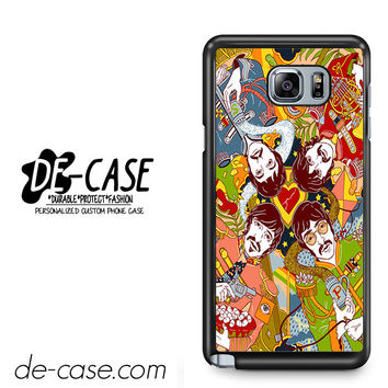 The Beatles Cartoon For Samsung Galaxy Note 5 Case Phone Case Gift Present
