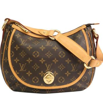 Louis Vuitton Monogram Tulum PM M40076 Women's Shoulder Bag Monogram BF309949