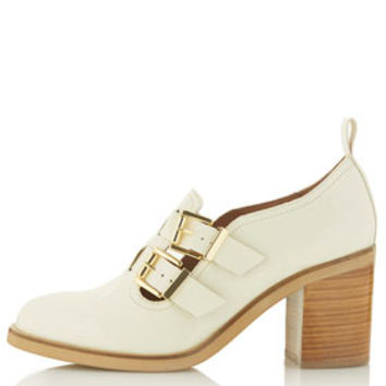 JACQUES Double Strap Mid Heels - Heels  - Shoes