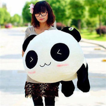 NEW 2015 8 Inch 20CM Super panda plush pillow is soft and comfortable hot 239