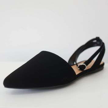 Alyssa Flats - Black