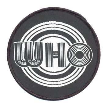 The Who Classic Standard Circles Patch