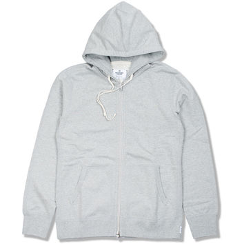 Full Zip Hoodie (Heather Grey)