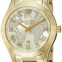 Michael Kors Watches Layton Chronograph Watch (Gold)